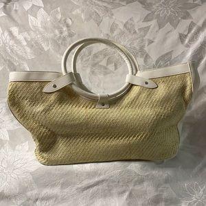 Woven summer tote/purse